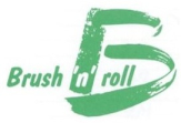 BRUSH AND ROLL