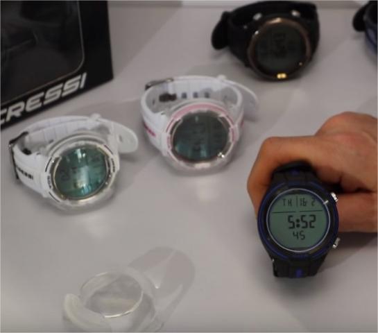 Avis sur le masque Calibro & les montres Drake, Goa, Cartesio et Cressi (VIDÉO)