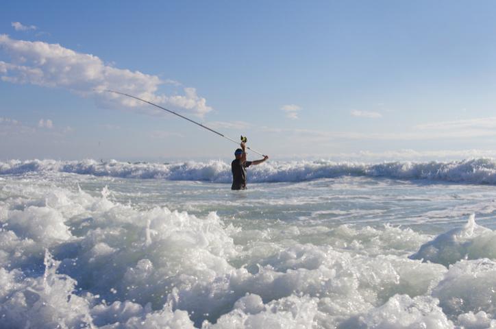 La pêche en surfcasting