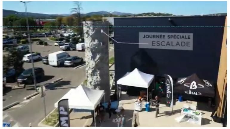 Cabesto Aubagne : journée spéciale Escalade dans notre magasin