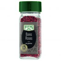Baies Roses en grains flacon verre 80ml 24g