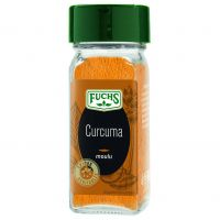 Curcuma moulu flacon verre 80ml 52g
