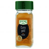 Curry gold moulu flacon verre 80ml 40g