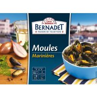 MOULES CUISINEES MARINIERES 900G