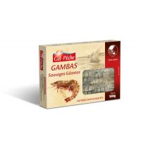 GAMBAS SAUVAGE 7/10 PIECES  500GR