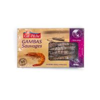 CREVETTE TROPICALES SAUVAGE 16/20 PIECES  400 GR