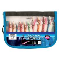 Trousse Sea Squid de 10X Turluttes Plongeantes