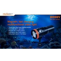 PHARE D900V VIDEO 2200 LUMENS ORCA TORCH