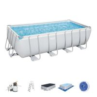 Piscine hors sol Power Steel rectangulaire 488 x 244 x 122 cm