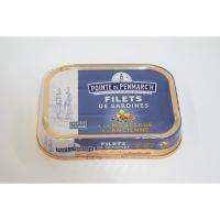 FILETS DE SARDINES A LA MOUTARDE 95G