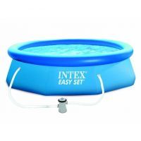 Piscine hors-sol autoportante intex easy set D396 x 84 cm