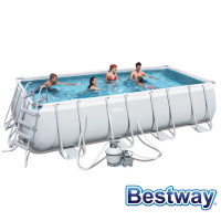 Piscine tubulaire rectangle Power Steel Frame Pools 5.49 x 2.74 x H.1.22m