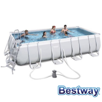 Piscine tubulaire rectangle Power Steel Frame Pools 4.88 x 2.44 x H.1.22m