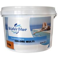 Chlore multifonctions waterblue galets 250g - 50kg