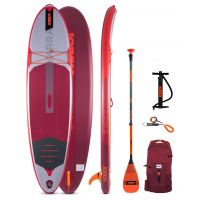 Pack paddle Jobe Aero Yarra SUP Board 10.6 Red - 2021