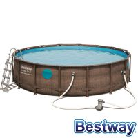 Piscine tubulaire Power Steel Swim Vista Pool Ø4.88xH.1.22m