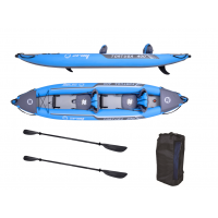 PACK KAYAK gonflable ZRAY - TORTUGA - 2021 - 2 Personnes