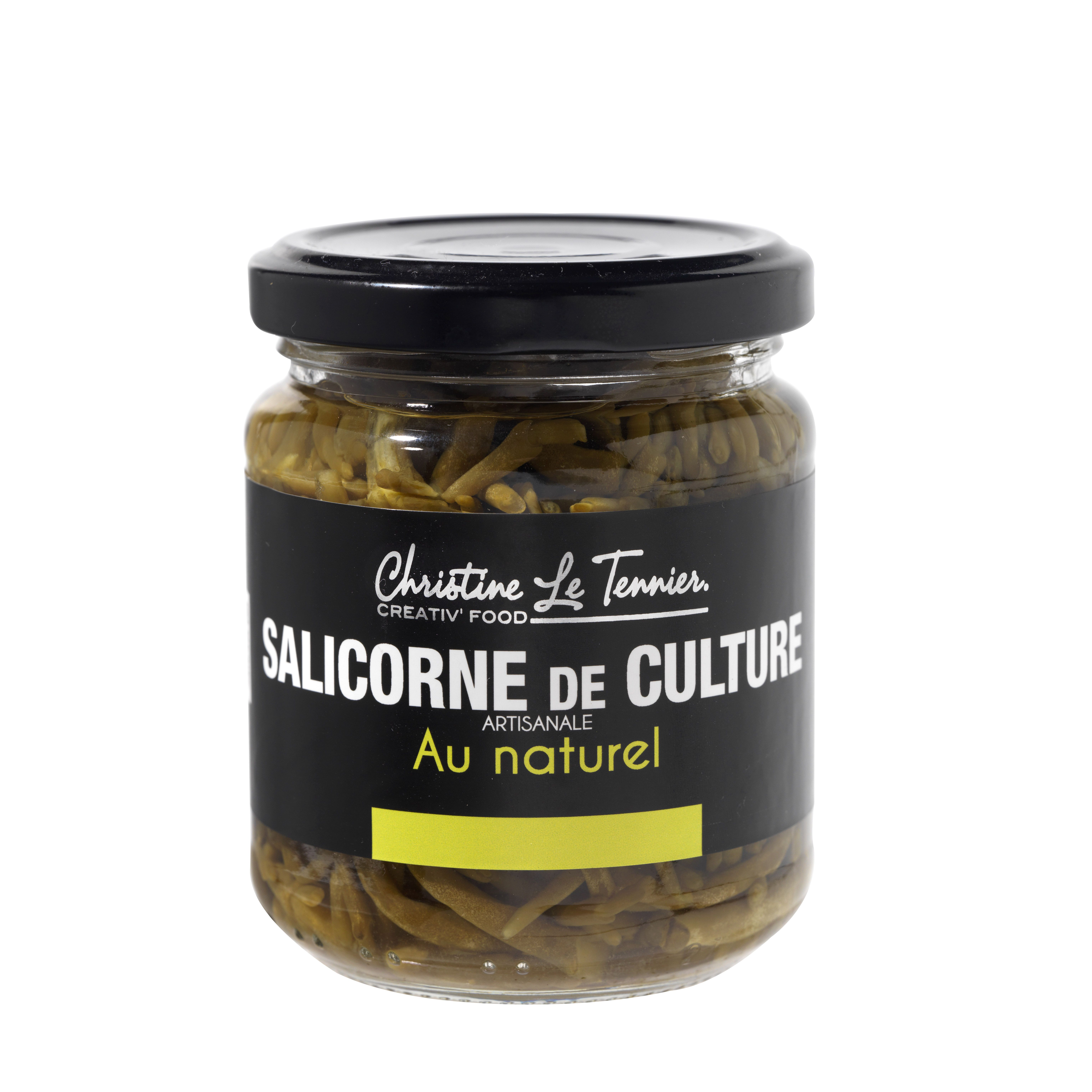 SALICORNE DE CULTURE AU NATUREL 100G