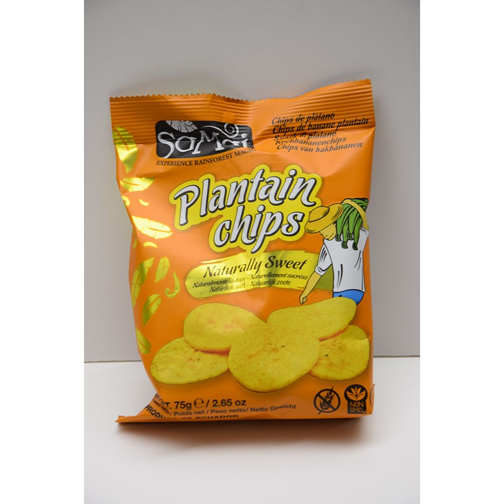 CHIPS BANANE SUCREES 75G